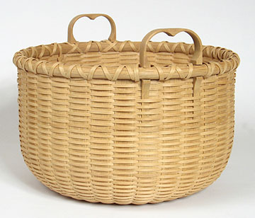 10 inch white oak basket