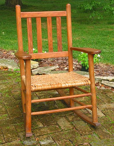 Hickory Bark Chair Seat