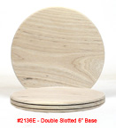 Double Slotted Base 6 inch