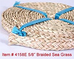 5/8 inch Braided Seagrass