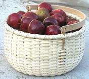 Apple Basket with Swing Handle Pattern