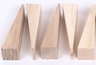 Wedges for Caning (pkg. of 5)
