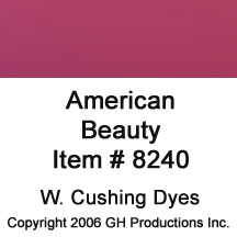 American Beauty Dye, W. Cushing Co.