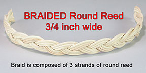 Braided Round Reed