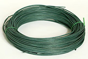 No. 3 Round Reed dyed Forest Green - 1/4 lb.