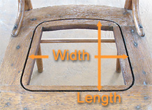 Measure Chair Seat