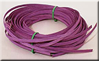 1/4 inch Flat Violet dyed Reed - 1/4 Lb.