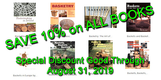 Monthly Sale Prices from The Basket Maker's Catalog