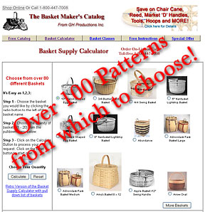 Basket Supply Calculator