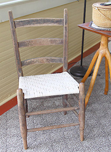 Flat Reed Chair Seat