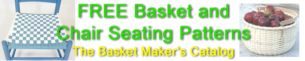 Free Basket and Chair Seating Instructions