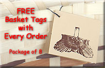 Free Basket Tags with every order