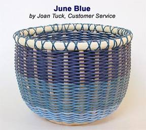June Blue Basket Pattern