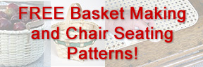 FREE Basket Making and chair Seating Patterns