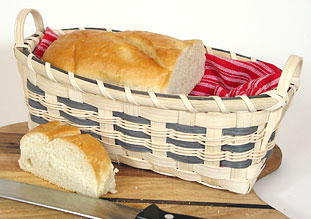 Mini Loaf Holiday Basket Pattern