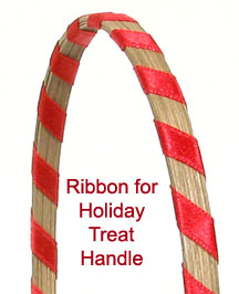 RIBBON FOR HOLIDAY TREAT HANDLE