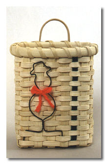 Snowman Basket Pattern