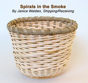 Spirals in the Smoke Basket Pattern