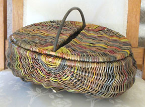 Willow Carry All Basket