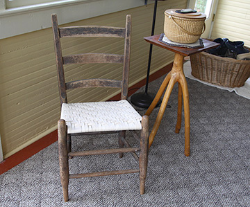 Finished Chair Seat