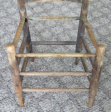Chair Seat With Four Rungs