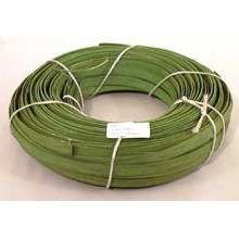 "1 lb. - 1/2"" Flat Green DYED--1 lb. bundle"