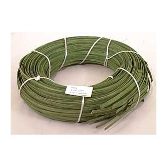 "1 lb. - 1/4"" Flat Green DYED--1 lb. bundle"