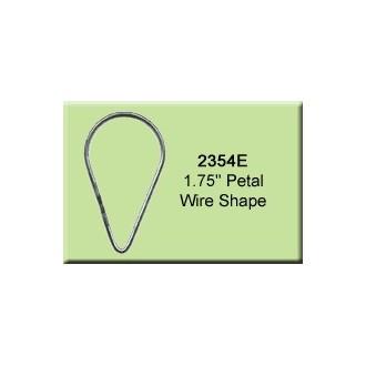 1.75 inch Petal Wire Shape