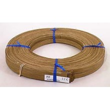 """Smoked 1/2"""" Flat Reed - 1 lb. coil"""