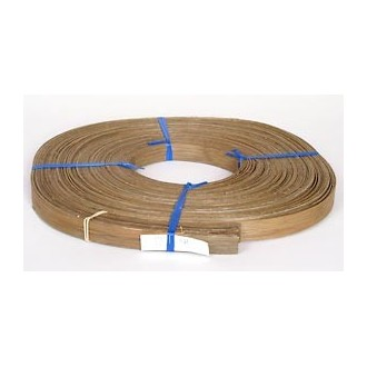 """Smoked 3/4"""" Flat Reed - 1 lb. coil"""