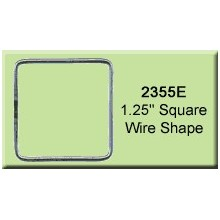 1.25 inch Square Wire Shape