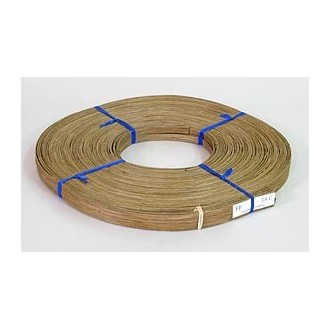 "Smoked 3/8"" Flat Reed - 1 lb. coil"
