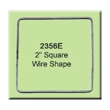 2 inch Square Wire Shape