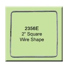 2 inch Square Wire Shape