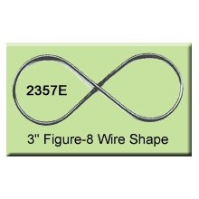 3 inch Figure-8 Wire Shape
