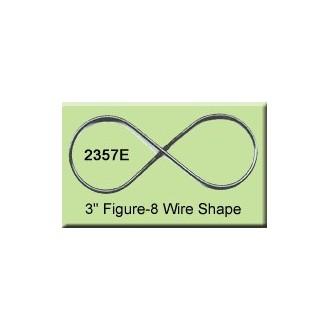 3 inch Figure-8 Wire Shape