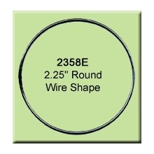 2.25 inch Round Wire Shape