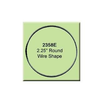 2.25 inch Round Wire Shape