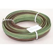 ".25 lb. - 1/4"" Flat Moss Heather Mix Multi-Colors DYED--1/4 lb. bundle"