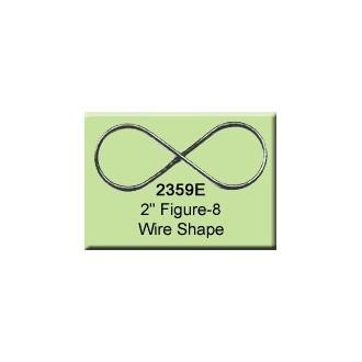 2 inch Figure-8 Wire Shape