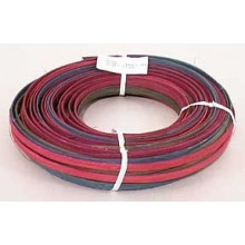 ".25 lb. - 1/4"" Flat Jewel Tones Mix Multi-Colors DYED--1/4 lb. bundle"