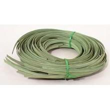 ".25 lb. - 1/4"" Flat Moss Green DYED--1/4 lb. bundle"