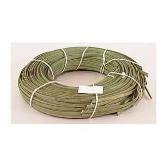 "1 lb. - 1/4"" Flat Moss Green DYED--1 lb. bundle"