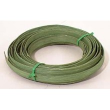 ".25 lb. - 1/2"" Flat Moss Green DYED--1/4 lb. bundle"