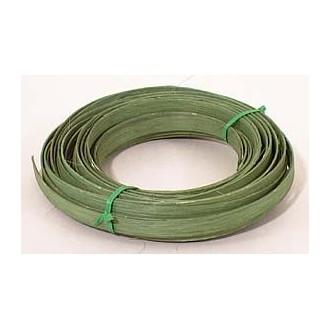 ".25 lb. - 1/2"" Flat Moss Green DYED--1/4 lb. bundle"