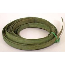 ".25 lb. - 5/8"" Flat Moss Green DYED--1/4 lb. bundle"