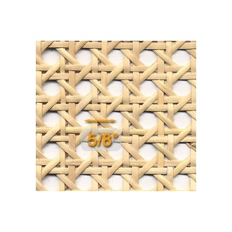 """Medium Open 5/8"""" Mesh Cane Webbing 18"""" wide - Sold by the running foot"""