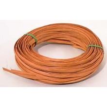 ".25 lb. - 1/4"" Flat Reed DYED 'Oak'--1/4 lb. bundle"
