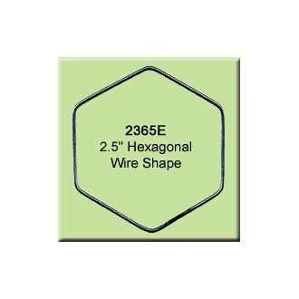 2.5 inch Hexagon Wire Shape