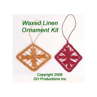 Special Quantity -- Waxed Linen Ornament - Supplies for 6 Ornaments